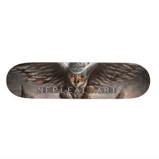 fantasy owl skate board decks