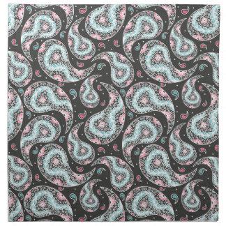 Fantasy paisley pattern napkin