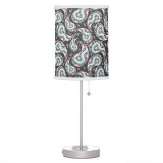 Fantasy paisley pattern table lamp
