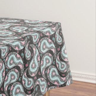 Fantasy paisley pattern tablecloth