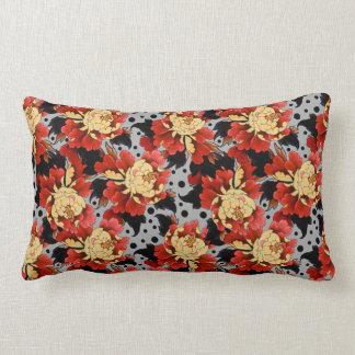 Fantasy Peonies Lumbar Pillow