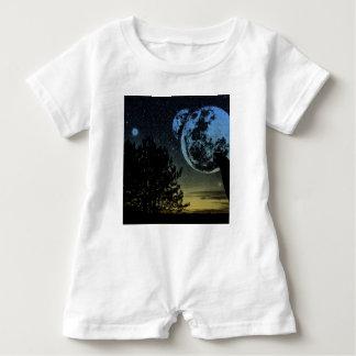 Fantasy planet baby romper