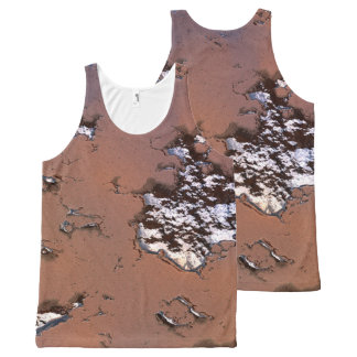 fantasy planet surface 1 All-Over-Print tank top