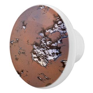 fantasy planet surface 1 ceramic knob
