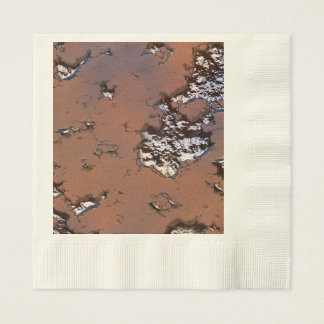 fantasy planet surface 1 paper napkins