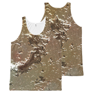 fantasy planet surface 2 All-Over-Print tank top