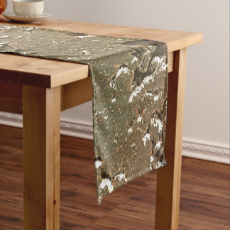 fantasy planet surface 2 short table runner