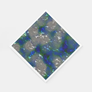 fantasy planet surface 3 disposable napkin