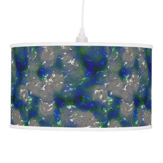 fantasy planet surface 3 pendant lamp
