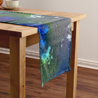 fantasy planet surface 3 short table runner