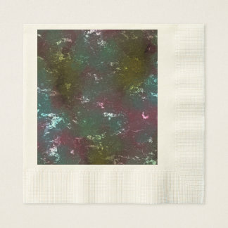 fantasy planet surface 4 disposable napkins