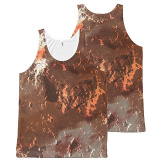 fantasy planet surface 5 All-Over-Print tank top