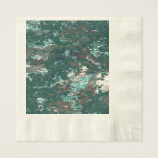 fantasy planet surface 6 disposable napkin