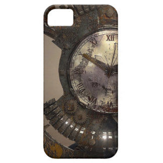 Fantasy Portrait Surreal Woman Helm Clock iPhone 5 Cover