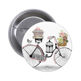 Fantasy push bike 2 inch round button