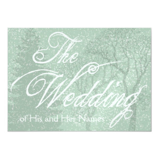 Fantasy Rustic Wedding Invitation