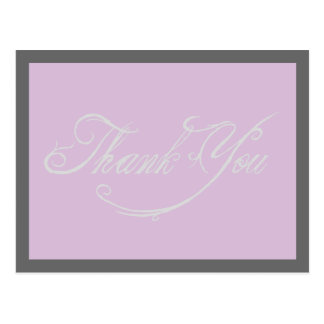 Fantasy Rustic Wedding Thank You Postcards