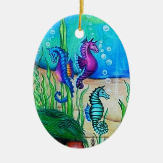 Fantasy Sea Horse Ornament
