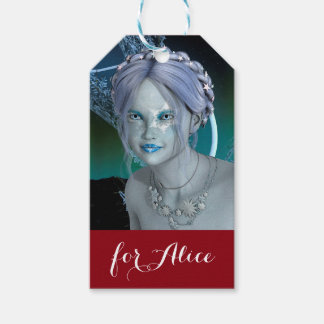 Fantasy Snow Fairy Pack Of Gift Tags