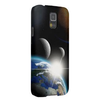 Fantasy Solar System Galaxy S5 Cases