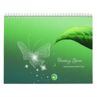 Fantasy Space Wall Calendars