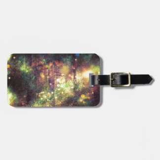 Fantasy Starry Forest 3 Luggage Tag