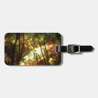 Fantasy Starry Forest Bag Tag