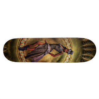 fantasy Steampunk Lady B Custom Skateboard