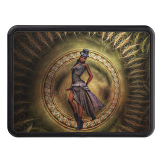 fantasy Steampunk Lady B Tow Hitch Covers
