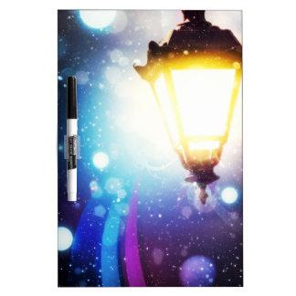 Fantasy Street Lamp 2 Dry Erase Board