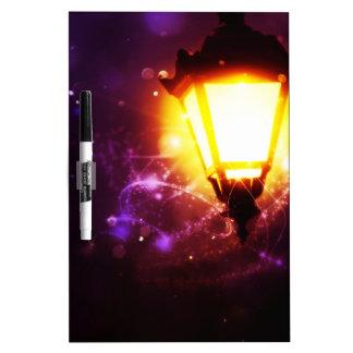 Fantasy Street Lamp Dry Erase Boards