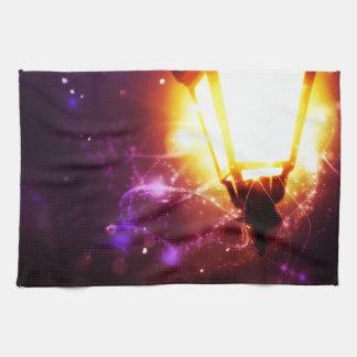 Fantasy Street Lamp Hand Towels