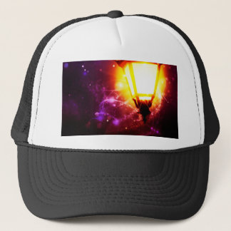 Fantasy Street Lamp Trucker Hat
