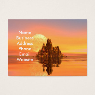 Fantasy Sunset Business Card