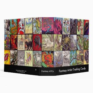 Fantasy Themed ATC Collectors Album Vinyl Binder