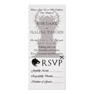 Fantasy Throne Wedding Invite