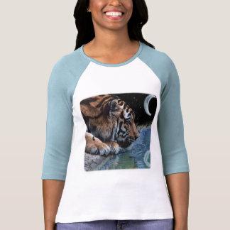 Fantasy Tiger & Moon Tshirt