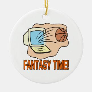 Fantasy Time Ceramic Ornament