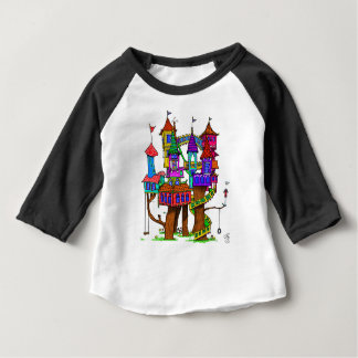 Fantasy Treehouse Baby T-Shirt
