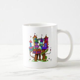 Fantasy Treehouse Coffee Mug