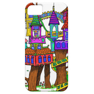 Fantasy Treehouse iPhone 5 Cover