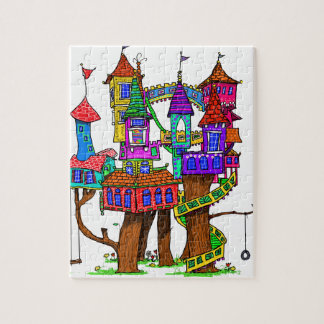Fantasy Treehouse Jigsaw Puzzle
