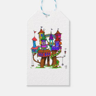 Fantasy Treehouse Pack Of Gift Tags