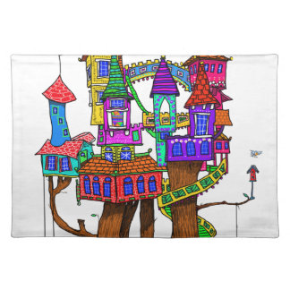 Fantasy Treehouse Placemat