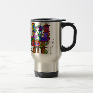 Fantasy Treehouse Travel Mug