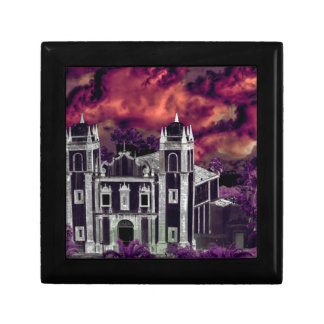 Fantasy Tropical Cityscape Aerial View Gift Box