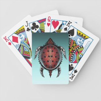 Fantasy Turtle Tattoo Poker Deck