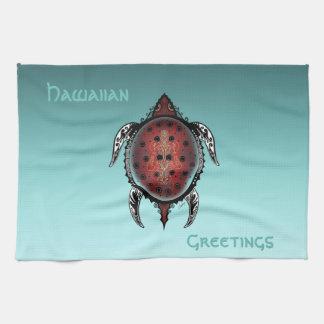 Fantasy Turtle Tattoo Towels