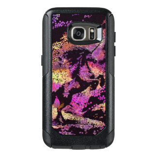 Fantasy Unicorn Abstract Art Galaxy S7 Phone Case