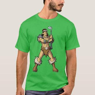 Fantasy warrior golfer t-shirt
